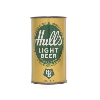 Hulls Light Beer ACTUAL 435
