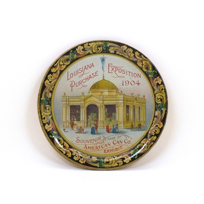 Louisiana Purchase American Can Tip Tray