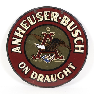 Anheuser-Busch On Draught Pre-Proh RPG Sign