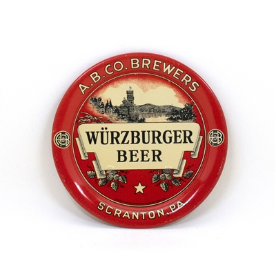 A.B.Co. Brewers Wurzburger Tip Tray