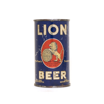 Lion Beer Can 495