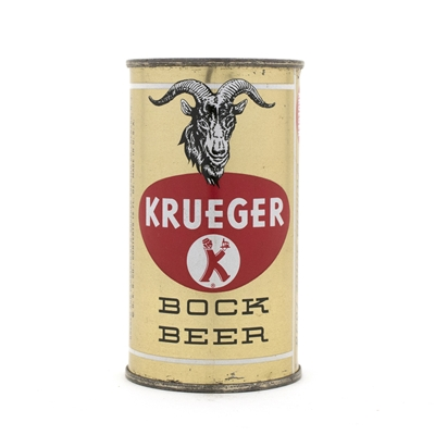 Krueger Bock Beer Flat Top Beer Can
