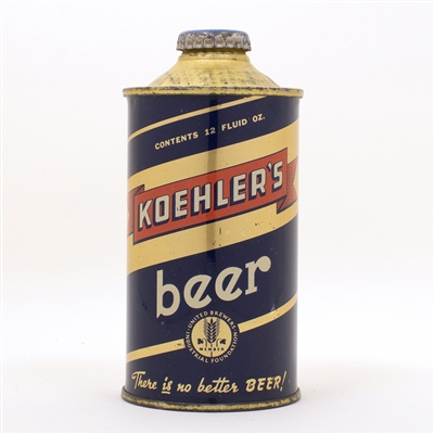 Koehlers Beer 171-24 Low Profile Cone Top