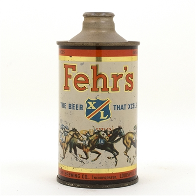 Fehrs X/L Cone Top Beer Can