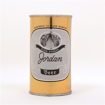 Jordan Flat Top Beer Can