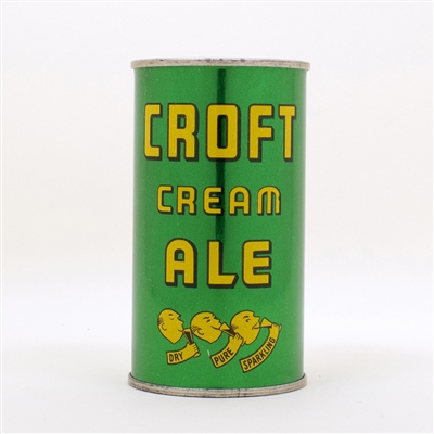 Croft Cream Ale Lemon Heads Flat Top