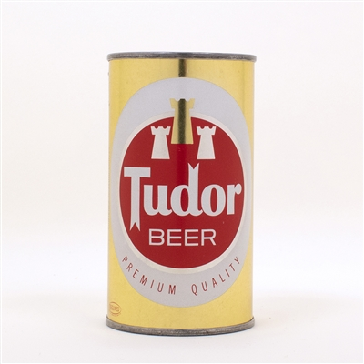 Tudor Beer  141-18 Flat Top Beer Can