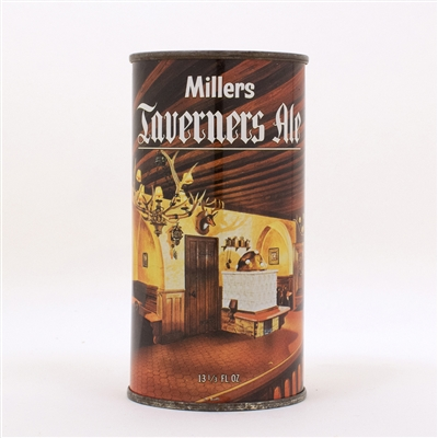 Millers Taverners Ale Flat Top Beer Can
