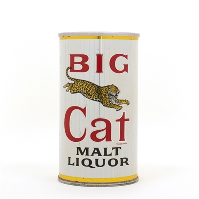 Big Cat Malt Liquor Early Cutter Zip Top