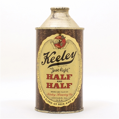 Keeley Half & Half 171-12 Cone Top Can