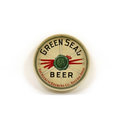 Buckeye Brewing Green Seal Beer Tip Tray