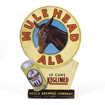 Mule Head Ale Diecut Sign