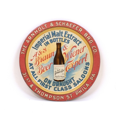 Arnholt & Schaefer Braun Beer Bottle Tip Tray