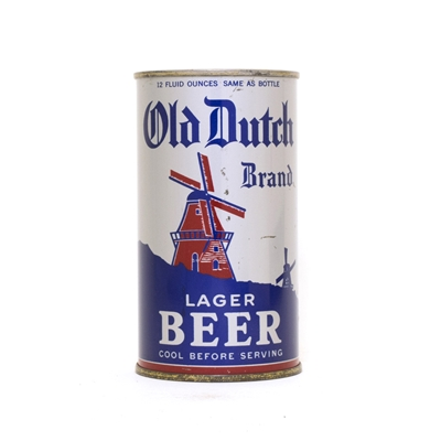 Old Dutch Lager Beer Can 599