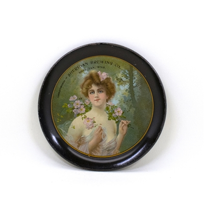 Sheridan Brewing Victorian Lady Tip Tray