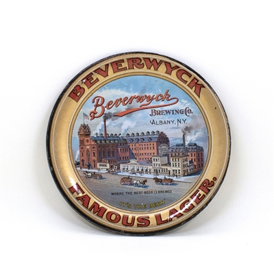 Beverwyck Brewing Factory Scene Tip Tray