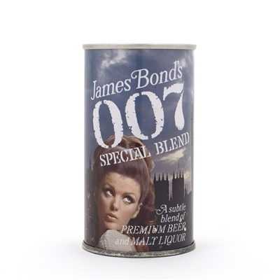 "James Bond 007 ""Parliament"" Beer Can"