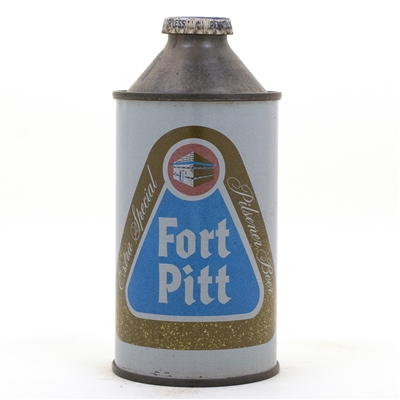 Fort Pitt Cone Top Beer Can