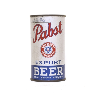 Pabst Export ACTUAL 638 Can