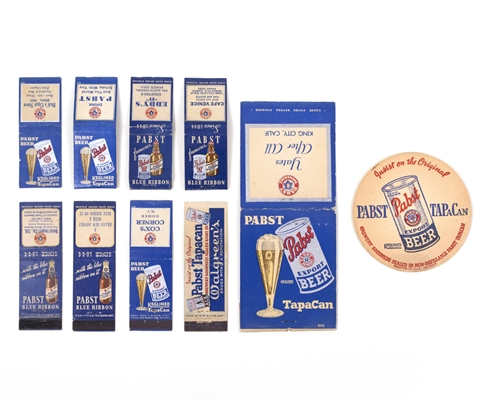 Pabst OI Can Matches/Mat