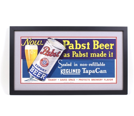 Pabst UNIQUE OI Can Sign