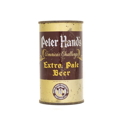 Peter Hands Beer Can 678