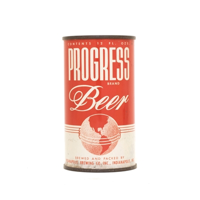 Progress Beer Can 697