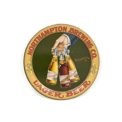 Northampton Brewing Bottles in Hand Tip Tray