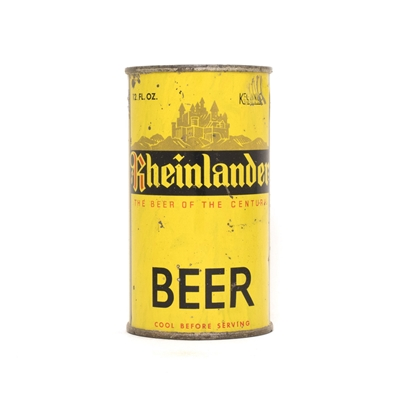 Rheinlander Beer Can 735
