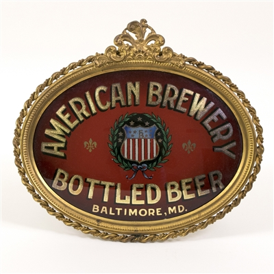 American Brewery Bottled Beer RPG Sign