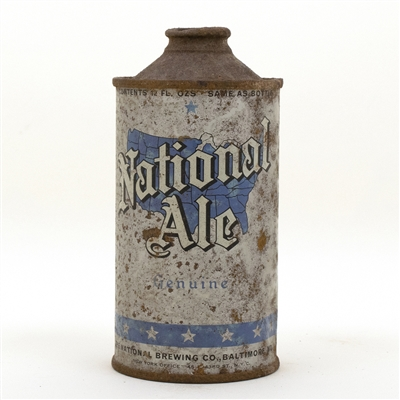 National Ale Cone Top Beer Can