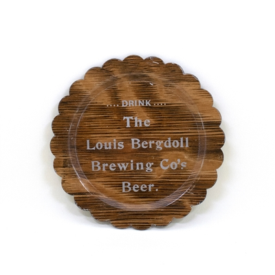 Louis Bergdoll Brewing Beer Tip Tray