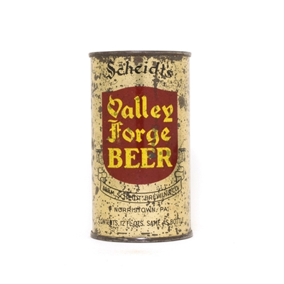 Valley Forge Beer ACTUAL 830