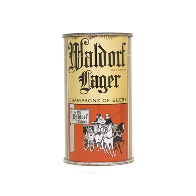 Waldorf Lager Beer Can 856
