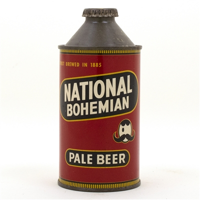 National Cone Top Beer Can
