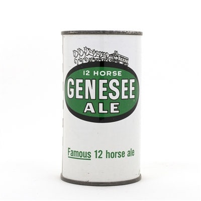 Genesee 12 Horse Ale Flat Top Beer Can