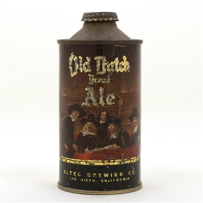 Old Dutch Brand Ale Cone Top Beer Can
