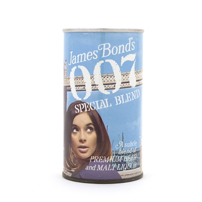 "James Bond 007 ""Westminster"" Beer Can"