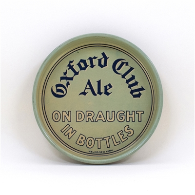 Oxford Club Ale Springfield MA Tip Tray