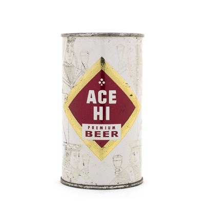 Ace Hi Beer Flat Top Beer Can