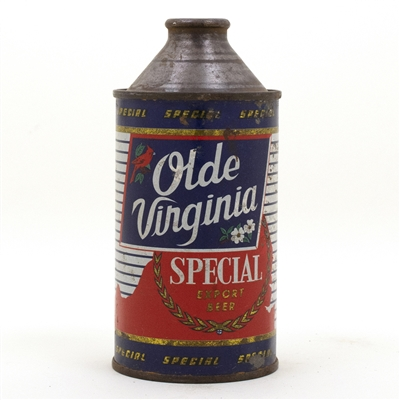 Olde Virginia Cone Top Beer Can