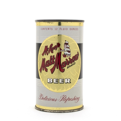 McAvoy's Malt Marrow Beer Flat Top Can
