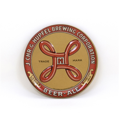 Hupfel Brewing Beer Ale Embossed Tip Tray