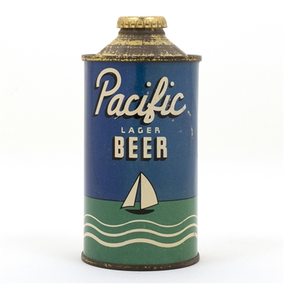 Pacific Cone Top Beer Can