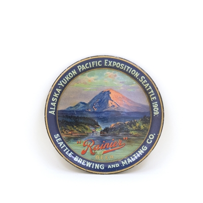 Seattle Brewing & Malting 1909 Alaska-Yukon Exposition Tip Tray