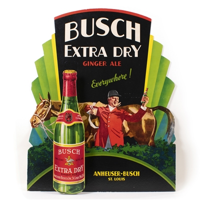 Busch Ginger Ale 3D Die Cut Sign
