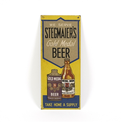 Stegmaier's Gold Medal Beer Tin Sign