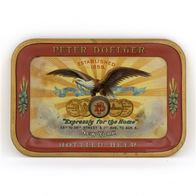 Peter Doelger Beer Pre-Prohibition Tip Tray