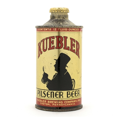 Kuebler Beer J-Spout Cone Top Can