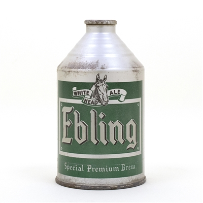 Ebling Ale Crowntainer Cone Top Beer Can